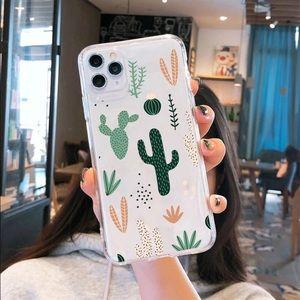NEW iPhone 12/11/Pro Max/XR Cactus case